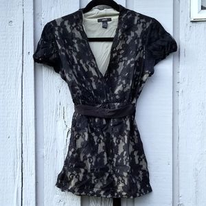 Black Lace Alfani Blouse